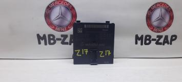 Блок управления центральным шлюзом Mercedes W221 2215406462