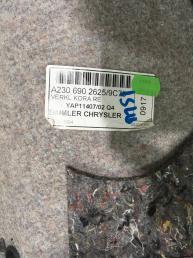 Обшивка багажника Mercedes W230 2306902625