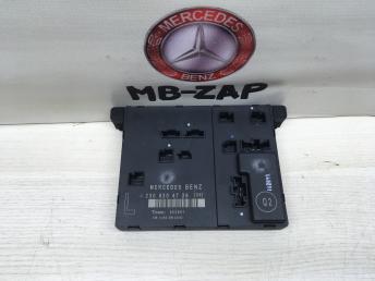 Блок управления левой двери Mercedes W230 2308204726