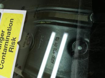 Стеклоподъёмник со стеклом задний Mercedes W230 2306700103