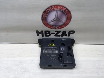 Блок управления задней левой дверью Mercedes W219 2198200226