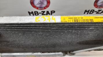 Система охлаждения Mercedes W203 2035002154