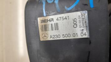 Радиатор основной Mercedes W230 2305000104