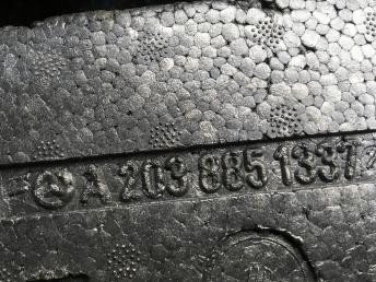 Абсорбер переднего бампера Mercedes W203 2038851337