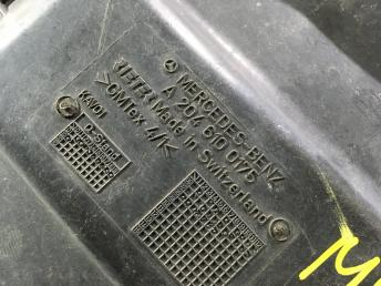 Поддон запасного колеса Mercedes W204 2046100175