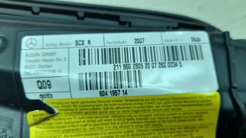 Подушка безопасности правого сидения Mercedes W211 2118602805