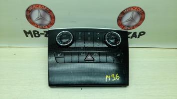 Центральная накладка передней панели Mercedes W164 1646804417