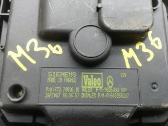 Моторчик печки Mercedes W164 1648350207