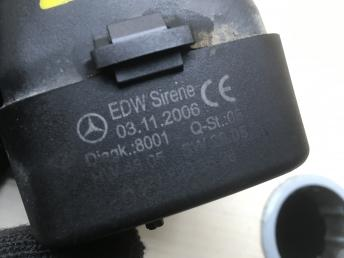 Cирена штатной сигнализации Mercedes W221 2218208526