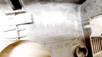 Пластиковая накладка салонного зеркала Mercedes W164 1648110207