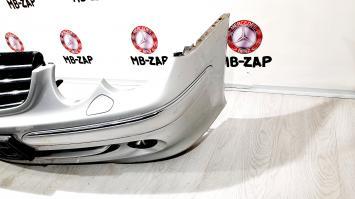 Бампер передний в сборе + решетка Mercedes W209 2098800123