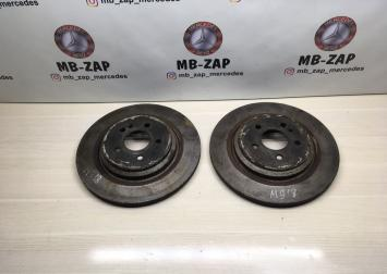 Диск тормозной задний Mercedes W163  А1634230012 А1634230012