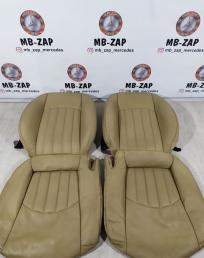 Накладка передних сидений кожаная Mercedes W219 2199104147