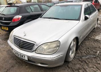 Разбор Mercedes W220
