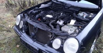 Разбор Mercedes W210 рестайлинг