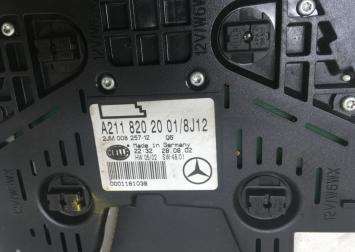Плафон салона задний Mercedes W219 2118202001