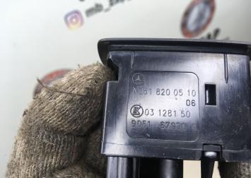 Кнопка стеклоподъемника Mercedes X164 2518200510