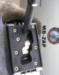 Селектор АКПП Mercedes W220 2202670624