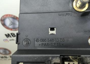 Блок предохранитель задний Mercedes W215 0005401950