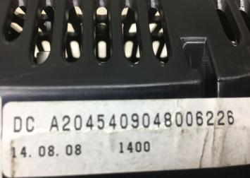 Панель приборов Mercedes W204 2044423621