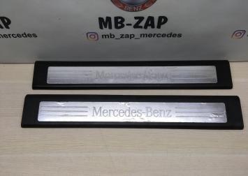 Накладка порога внутренняя передняя Mercedes W164 1646803435