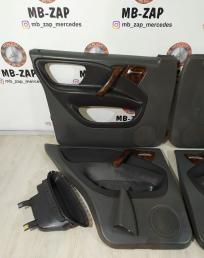 Комплект дверных карт Mercedes W163 1637300170