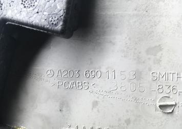 Обшивки стоек салона Mercedes W203 2036901030