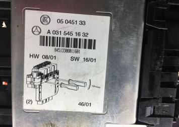 Блок предохранителей SAM Mercedes W215 0315451632