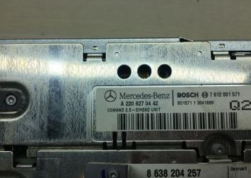 Comand 2.5 магнитола Mercedes W220 2208270442