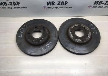 Тормозные диски переднее Mercedes W210  А2104211212 А2104211212