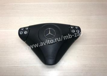 Подушка безопасности в руль Mercedes W203