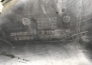 Воздухозаборник Mercedes W220 2208300144