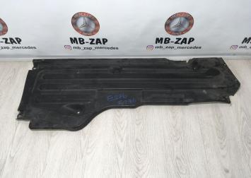 Защита днища передняя правая Mercedes W219 2196802006