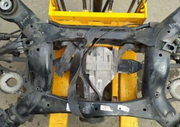 Подрамник задний в сборе mercedes W164 X164 R251 A1643500132