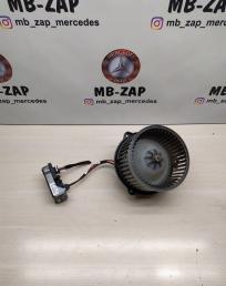 Моторчик печки с регулятором Mercedes W163  A1638204142