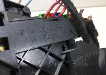 Блок реле Mercedes W163 1635450405