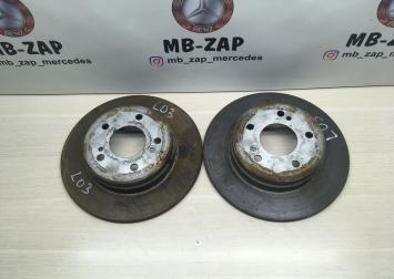 Диск тормозной задний Mercedes W203 2034230112