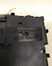 Блок регулировки положения сидений Mercedes W212 2048701958