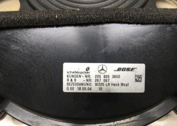 Сабвуфер Mercedes W220 2208203602