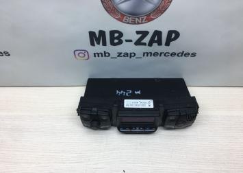 Блок управления климат-контролем Mercedes W220 2208300985