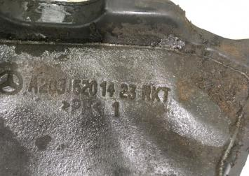 Защита двигателя Mercedes W203  А2035401423 А2035401423