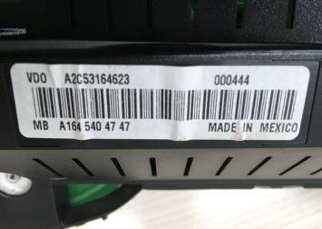 Панель приборов Mercedes W164 1645404747