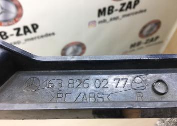 Планка под фару комплект Mercedes ML-Class W163 1638260277