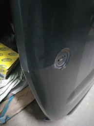 Мерседес W164  капот ГЛ вмятина