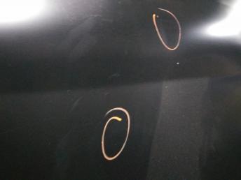 Мерседес W164 GL капот ГЛ gl ГЛ повреждения