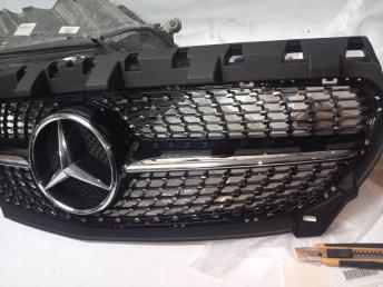 Мерседес W117 CLA решетка радиатора
