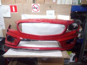 Мерседес W 117 CLA AMG RED