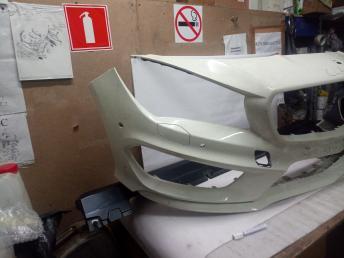 Мерседес W 117 CLA AMG бампер передний WHITE