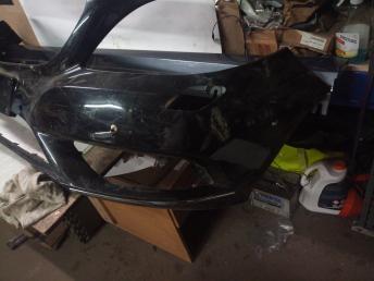 Mercedes W 246 бампер передний цвет темный