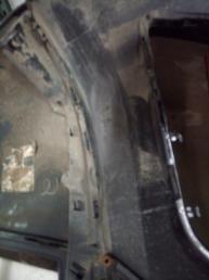 Mercedes W 166 ML штат бампер передний